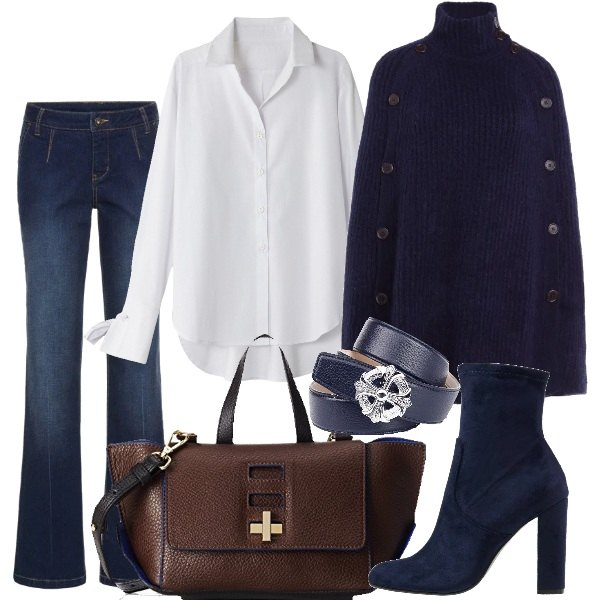 Chic in blue bianco
