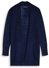ESPRIT Collection 097eo1i004, Cardigan Donna, Blu (Navy 400), X-Small
