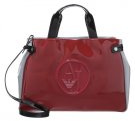 Shopping bag - burgundy/grigio/nero