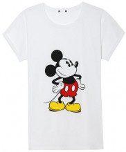 Maglia Manica Corta in Cotone Mickey Mouse
