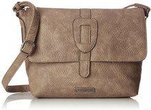 Tamaris Patty Crossbody Bag L - Borse a tracolla Donna, Pink (Mauve), 22x13x25.5 cm (B x H T)
