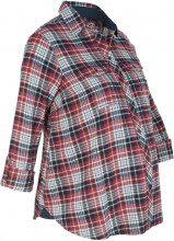Camicia prémaman in flanella a quadri