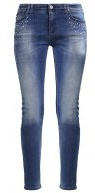 Jeans slim fit - denim indaco