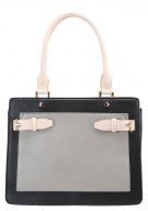 Borsa a tracolla - black/cream/grey