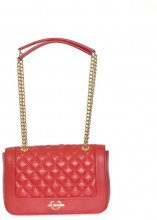 Borsa quilted nappa ROSSO