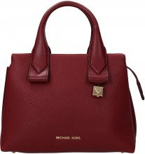 Borse a Mano Michael Kors rollins sm Donna Rosso