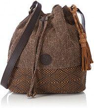 Timberland TB0M5770, Borsa a Secchiello Donna, Marrone (Chocolate Brown), 17x33.5x28.5 cm