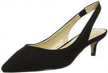 Lotus Misty, Scarpe col Tacco con Cinturino Dietro la Caviglia Donna, Nero (Black Microfibre Blk Micro), 38 EU