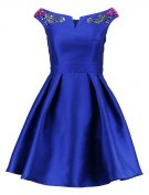 Vestito elegante - cobalt