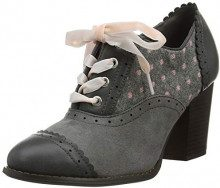 Joe Browns Vintage Spirit Shoes, Scarpe col Tacco Punta Chiusa Donna, Grigio (Grey A), 36 EU