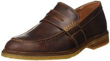 Clarks Clarkdale Flow, Mocassini Uomo, Marrone (Mahogany Leather), 39.5 EU