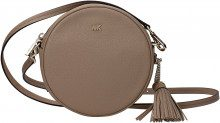 Borse a Tracolla Michael Kors canteen bag md Donna Beige