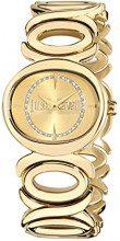 Just Cavalli R7253655503 - Orologio da polso donne, Acciaio inossidabile, colore: Oro