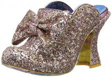 Irregular Choice Glitter Queen, Sabot Donna, Rosa (Pink B), 40 EU