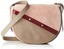 Liebeskind Berlin HECROSSBS SUCMPA, Borsa a tracolla Donna, Beige (Beige (tuscany beige 8446)), 9x18x23 cm (B x H x T)