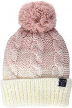 Superdry CLARRIE Cable Beanie, Berretto in Maglia Donna, Rosa (Sandy Pink Ombre Wb1), One Size (Taglia Produttore:OS)