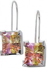 Orphelia dicono le donne s Rainbow Collection-Orecchini in argento Sterling 925 e zirconi multicolore, CC-46