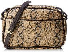 Bensimon Round Bag - Borse a tracolla Donna, Avorio (Écru), 6x15x23 cm (W x H L)