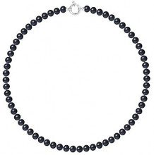 Pearls & Colors Collier Donna - AM18-COL-AG-POT67-AML-BL