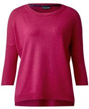 Street One Oversized Pullover, Felpa Donna, Rosa (Funky Pink 11019), 40 (Taglia Produttore: 34)