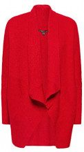 ESPRIT Collection 108eo1i007, Cardigan Donna, Rosso (Red 630), Small