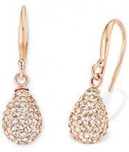Amor–Orecchini per donna, goccia Peach in oro rosa, argento placcato oro cristallo Arancione 2.7cm–513265