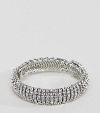 True Decandence - Bracciale argento con strass