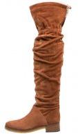 GONA - Stivali sopra il ginocchio - almond