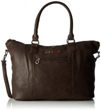 Little Marcel Id02 - Borse Tote Donna, Marron (Brown), 17x25x47 cm (W x H L)