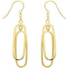 H. Gaventa Ltd - Orecchini pendenti da donna, oro giallo 9k (375), cod. E-10685