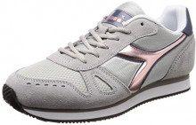 Diadora Simple Run Wn, Sneaker Donna, (Grigio Ghiacciaio 75039), 40 EU