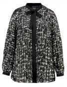 FECOLA - Camicia - nero/bco