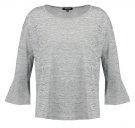 Maglietta a manica lunga - grey melange