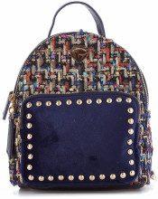 Mini zaino Mini Backpack Carattere Blue
