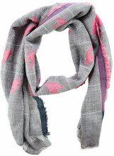 Sciarpa in misto lana Grey