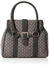 Joe Browns Vintage Spirit Bag - Borse a mano Donna, Grigio (Grey Multi), 10x25.5x29 cm (W x H L)
