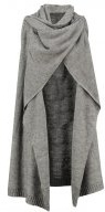 VIRIVA - Cardigan - medium grey melange