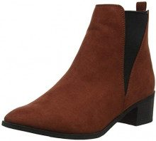 New Look Wide Foot Dolly, Stivali Chelsea Donna, Marrone (Rust 25), 40 EU