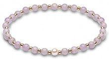 Kimura Pearls Bracciale elastico Donna oro_giallo - A-AMATY001