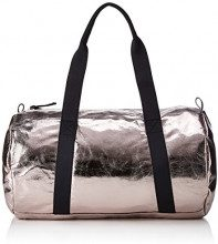 PIECES Pcjoni Weekend Bag - Borsette da polso Donna, Silber (Silver Colour), 13x26x34 cm (B x H T)