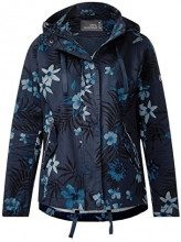 Cecil 200416, Cappotto Donna, Blu (Deep Blue 30128), Small