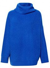 ESPRIT 098ee1i029, Felpa Donna, Blu (Bright Blue 410), Medium