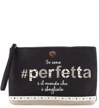 Pochette Hobo Perfetta Black