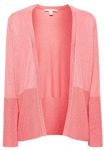 ESPRIT 038ee1i006, Cardigan Donna, Rosso (Coral 645), Small