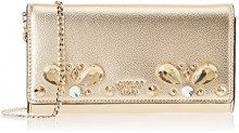 Guess Summer Night City, Borsa a Mano Donna, Oro (Gold/Gol), 22.5x12.5x3.5 cm (W x H x L)