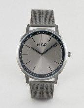 1520012 Exist - Orologio grigio con cinturino in rete