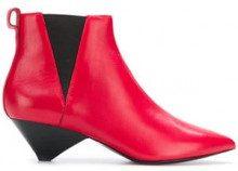 - Ash - kitten heel boots - women - pelle - 36, 41, 37, 39, 38, 35 - di colore rosso