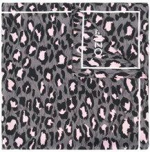 - Kenzo - leopard print scarf - women - seta - Taglia Unica - di colore grigio