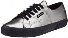 Superga2750 Varnishmirrorw - Low-Top Donna, Argento (Argento (Silver)), 35.5