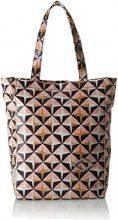 Oilily Lori Geometrical Shopper Mvz - Borsa Donna, Rosa (Rose), 14x32x35 cm (B x H T)
